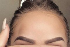 Eyebrows looking great! Shaped to fit your facial features.