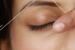 Threading is a wonderful alternative to waxing!